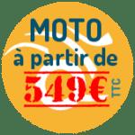 Votre permis moto à partir de 549€ TTC