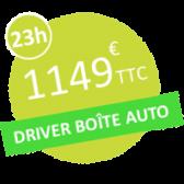 L' auto ecole drive innov à Valence , Portes les Valence , Chambery , St Etienne et Lyon est en phase avec le nouvelles règlementations . Vous pouvez d'ailleurs passer votre permis sur une voiture en boîte automatique ( électrique ou thermique ) et dans les agences de l' auto école Drive Innov à Valence , Portes les Valence , Chambery , St Etienne et Lyon vous pourrez le faire. Nous avons donc créé une formule 23h en voiture boite automatique car il s'agit de la moyenne pour avoir le permis sur véhicule à embrayage automatique. Vous pourrez retrouver cette solution chez l' auto-école drive innov à Valence , Portes les Valence , Chambery , St Etienne et Lyon