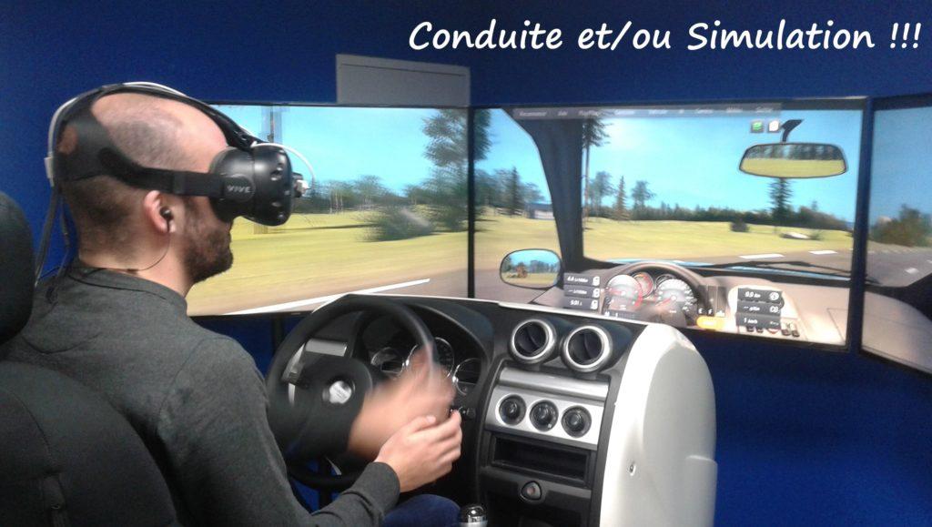 Permis et simulateur de conduite pour passer le permis de conduire à l'auto ecole Drive Innov Lyon , Chambéry , Valence , Potes les Valence et St Etienne - l'auto école Drive Innov vous dit tout
