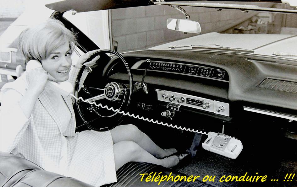 Le téléphone au volant, un danger ou pas ? L' auto ecole Drive Innov de Lyon, Valence, Portes les valence, Chambéry et St Etienne