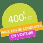 acheter votre pack 10 heures de conduites chez l'auto-école Drive Innov à valence, lyon, portes les valence, Chambéry et St Etienne