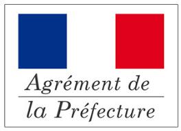 Logo Agrément de la Préfecture